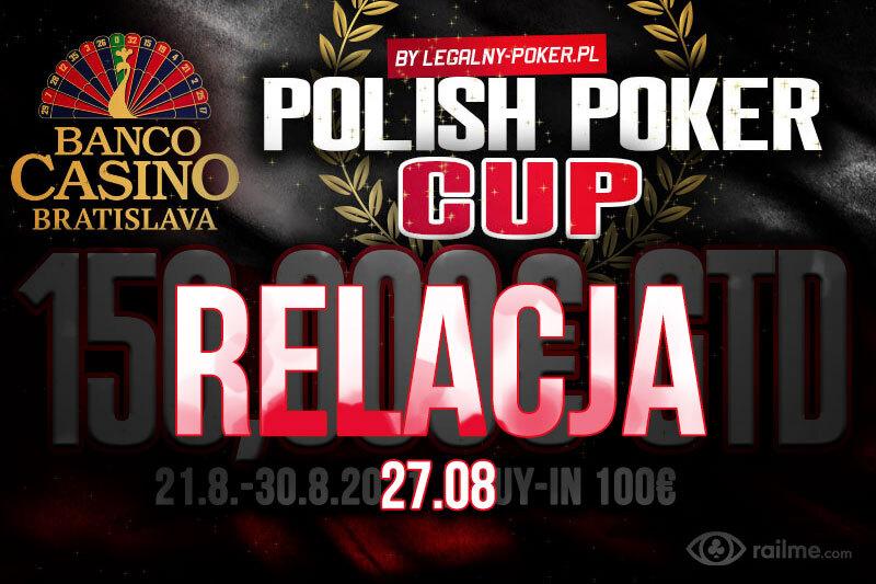 Polish Poker Cup dzień 1E i 1F – relacja na żywo 04:35