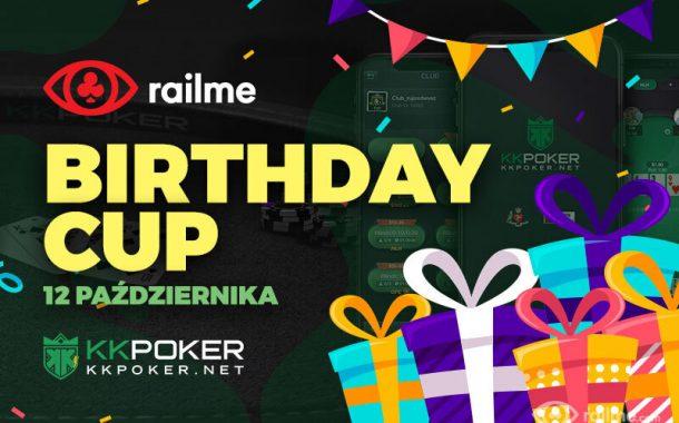KKPoker - 12 października turniej z okazji urodzin RailMe!